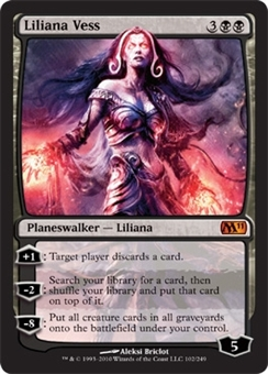 Magic the Gathering 2011 Single Liliana Vess Foil