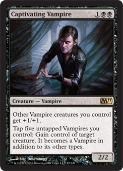 Magic the Gathering 2011 Single Captivating Vampire - NEAR MINT (NM)
