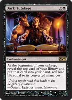 Magic the Gathering 2011 Single Dark Tutelage - NEAR MINT (NM)