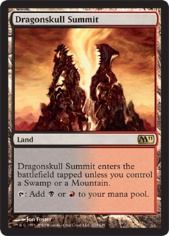 Magic the Gathering 2011 Single Dragonskull Summit Foil