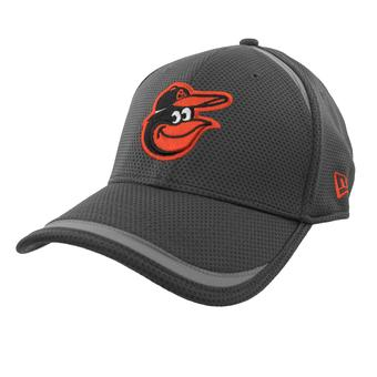 Baltimore Orioles New Era 39Thirty (3930) Gray Reflectaline Flex Fit Hat (Adult S/M)