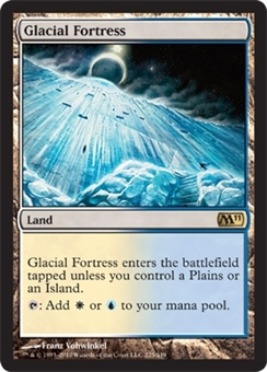 Magic the Gathering 2011 Single Glacial Fortress - NEAR MINT (NM)