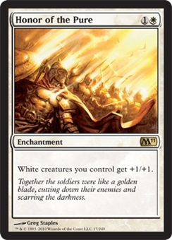 Magic the Gathering 2011 Single Honor of the Pure Foil