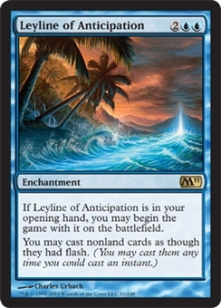 Magic the Gathering 2011 Single Leyline of Anticipation UNPLAYED (NM/MT)