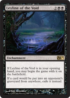 Magic the Gathering 2011 Single Leyline of the Void - NEAR MINT (NM)