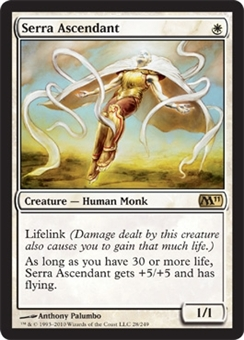 Magic the Gathering 2011 Single Serra Ascendant FOIL - NEAR MINT (NM)
