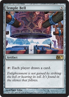 Magic the Gathering 2011 Single Temple Bell UNPLAYED (NM/MT)