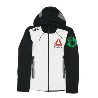 Conor McGregor UFC Reebok Black Walkout Full Zip Hoodie (Adult X-Large)
