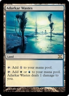 Magic the Gathering 10th Edition Single Adarkar Wastes Foil
