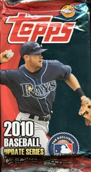 2010 Topps Update Baseball Jumbo Pack