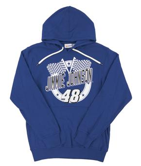 Jimmie Johnson #48 G-III Racing Royal Blue Fleece Hoodie (Adult X-Large)