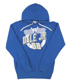 Dale Earnhardt Jr. #88 G-III Racing Royal Blue Fleece Hoodie (Adult Medium)