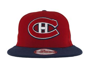 Montreal Canadiens New Era 9Fifty Basic Red Flat Brim Snapback Hat