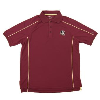 Florida State Seminoles Colosseum Maroon Chiliwear Overtime Performance Polo (Adult Small)