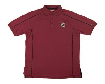 South Carolina Gamecocks Colosseum Maroon OT Chiliwear Performance Polo Shirt (Adult S)