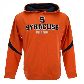 Syracuse Orange Colosseum Orange Triple Threat Pullover Performance Fleece Hoodie (Adult S)
