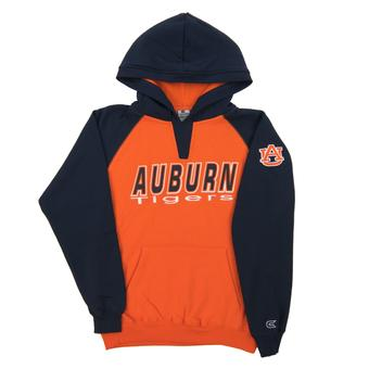 Auburn Tigers Colosseum Orange Youth Notch Pullover Hoodie (Youth L)