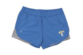 UCLA Bruins Colosseum Womens Blue Runaway Shorts (Womens M)