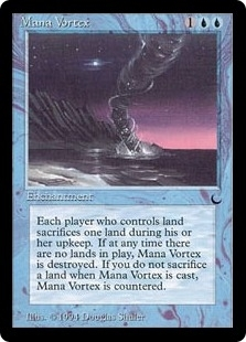 Magic the Gathering Dark Single Mana Vortex - NEAR MINT (NM)