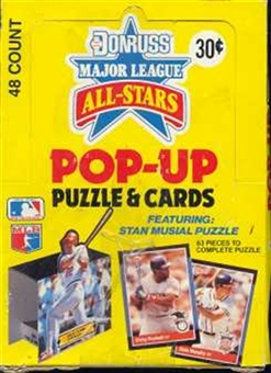 1988 Donruss All-Star Pop-up Baseball Wax Box