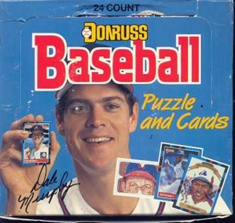 1988 Donruss Baseball Cello 12-Box Case