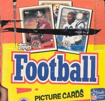 1988 Topps Football Jumbo Box