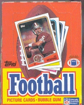 1988 Topps Football Wax Box
