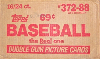 1988 Topps Baseball Cello 16-Box Case
