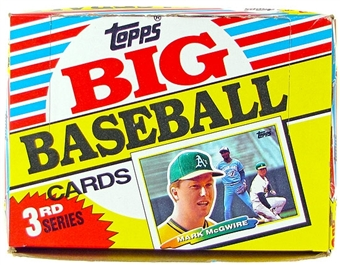 1988 Topps Big Series 3 Baseball Wax Box