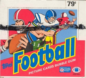 1988 Topps Football Cello Box