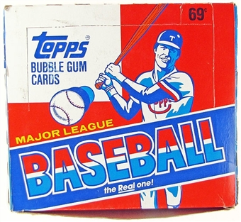 1988 Topps Baseball Cello Box