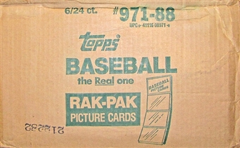 1988 Topps Baseball Rack 6-Box Case