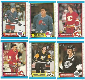 1989/90 O-Pee-Chee Hockey Complete Set (NM-MT)