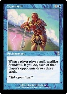 Magic the Gathering Odyssey Single Standstill Foil