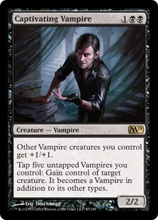 Magic the Gathering 2011 Single Captivating Vampire FOIL