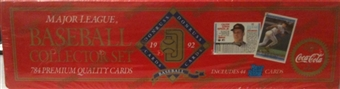 1992 Donruss Baseball Coca Cola Factory Set