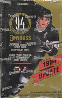 1994/95 Donruss Update Hockey Hobby Box