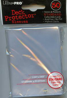 Ultra Pro Clear Deck Protectors (50 Count Pack)