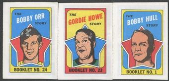 1971/72 O-Pee-Chee / Topps Booklets Complete Set (EX-MT)
