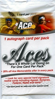 2010 Ace Authentic Aces Tennis Hobby Pack