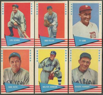 1961 Fleer Baseball Complete Set (EX-MT)