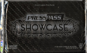 2010 Press Pass Showcase Racing Hobby Pack