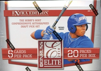 2010 Donruss Elite Extra Edition Baseball Hobby Box