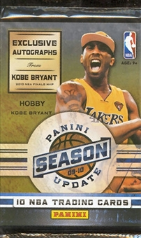 2009/10 Panini Season Update Basketball Hobby Pack