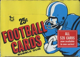 1977 Topps Football Cello Box