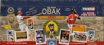 2010 TriStar Obak A History of the Game Baseball Hobby Box