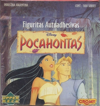 Pocahontas Sticker Box (Upper Deck) (Argentina) 1995