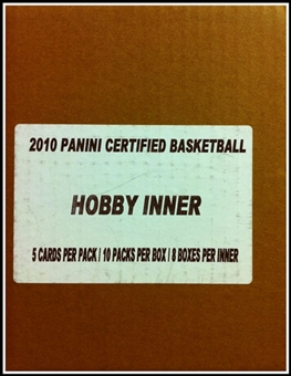 2009/10 Panini Certified Basketball Hobby 8-Box Case