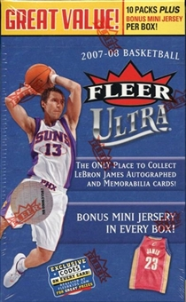 2007/08 Fleer Ultra Basketball 10-Pack Box