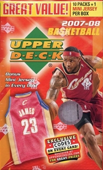 2007/08 Upper Deck Basketball 10-Pack Box